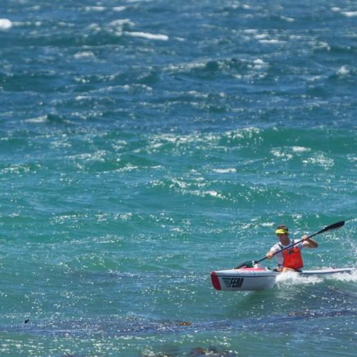 fenn eliteS surfski, mocke paddling, dawid mocke