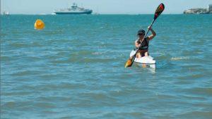 fenn,fenn france,surfski,kayak,blue finS