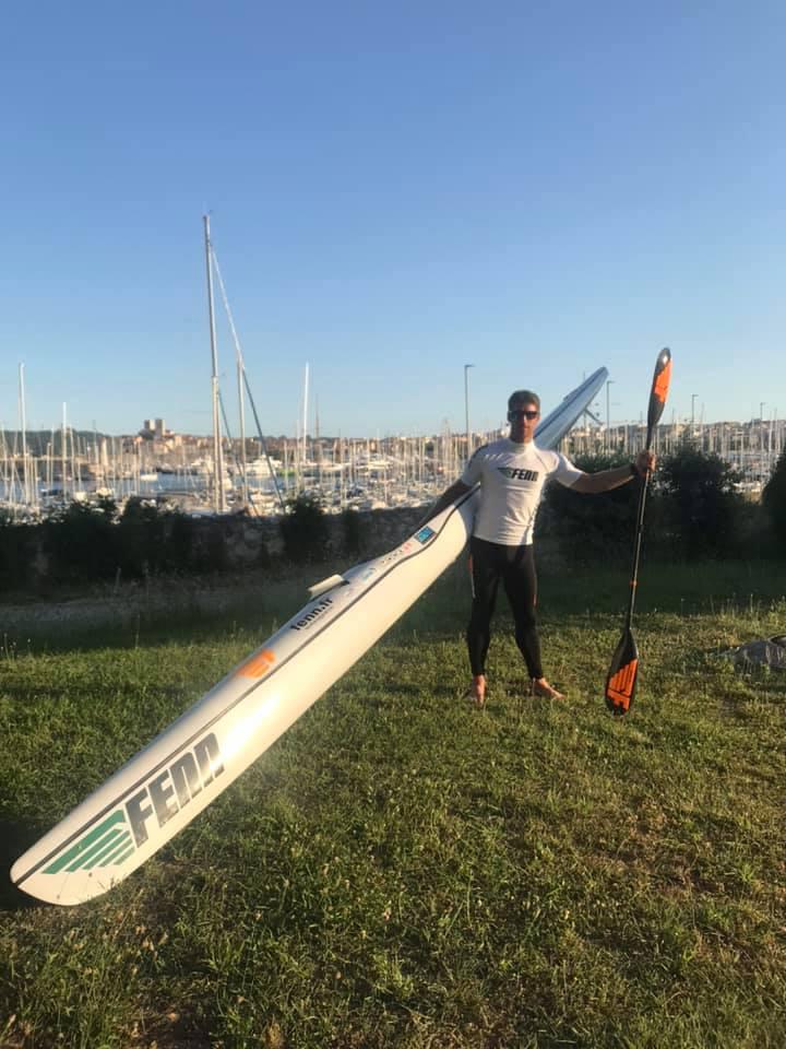 Nicolas LAMBERT  traversée Corse (Fenn Elite S)